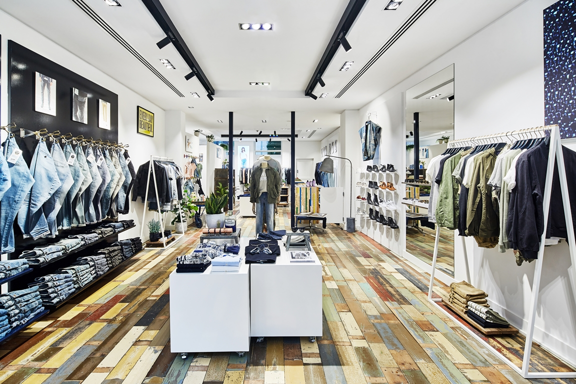 Denham Jeans Opens Store in The Hague – NL