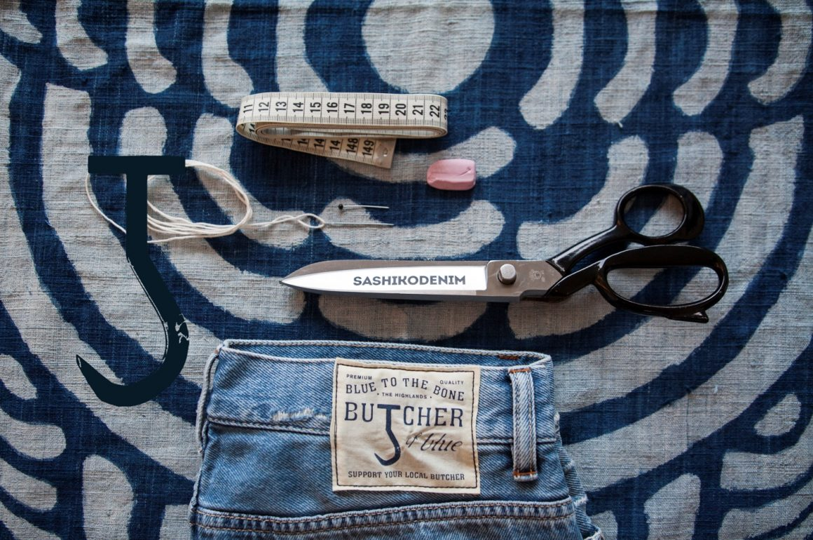 Butcher Of Blue X Sashikodenim Hook Up Project