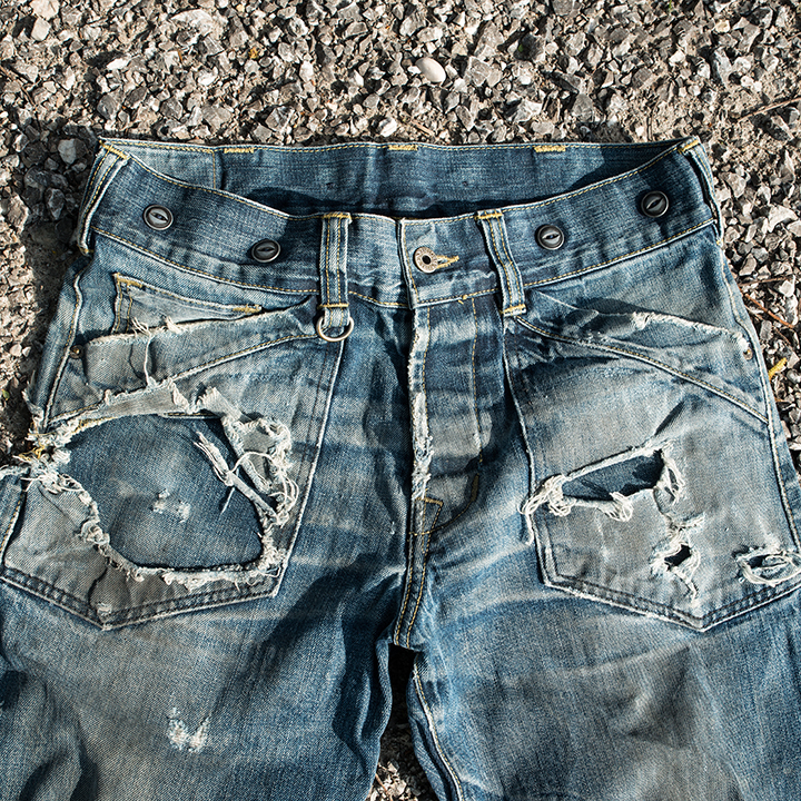 Worn-Out Projects X Pike Brothers Chopper Pant