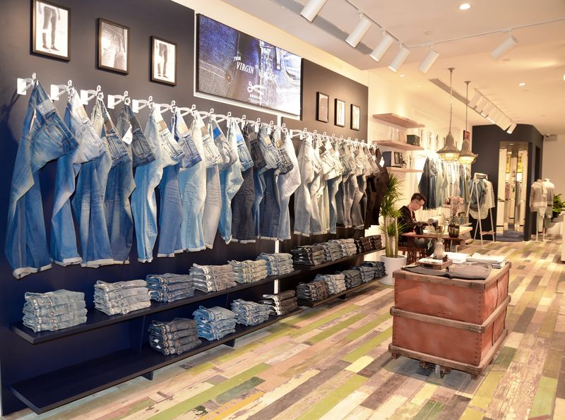 Denham Jeans Opens Its First Store In China