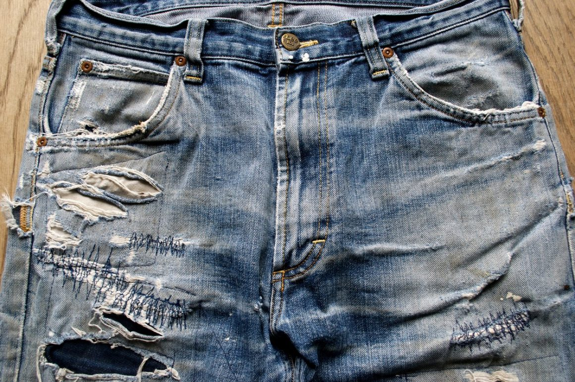 Special Edition: Worn-Out Projects X Lee 101 Rider Jeans