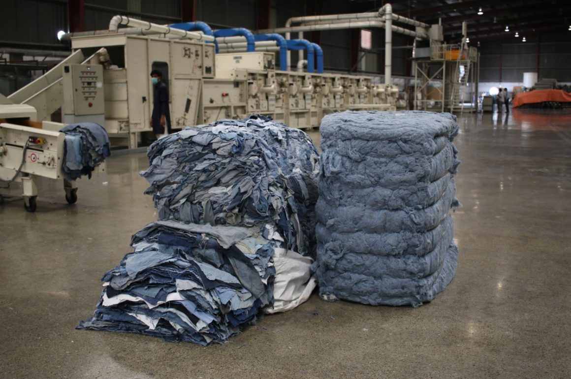 Recycling Used Denim Into New Cotton