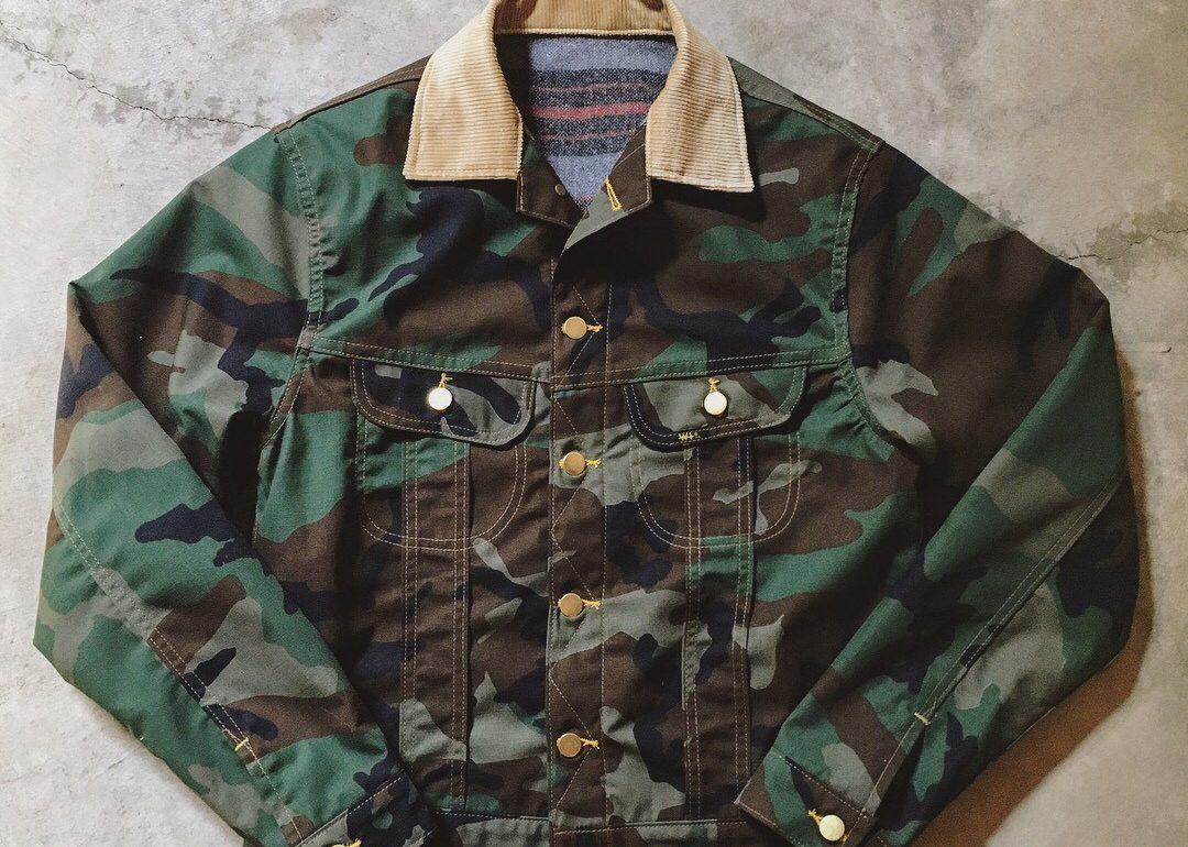 Limited Edition Camo Jacket by W.H. Ranch Dungarees