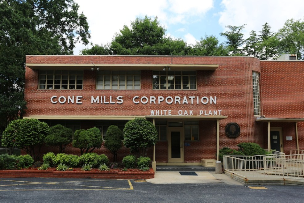 Breaking News: Cone Denim Will Close White Oak Plant
