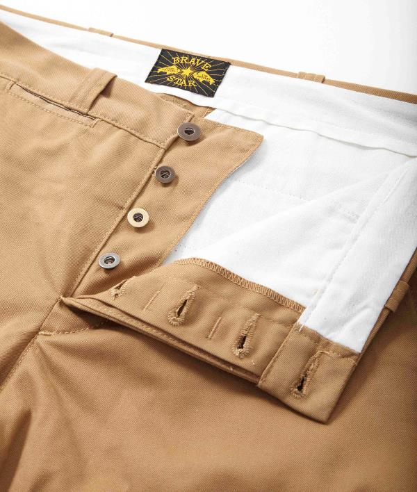Pre-Order Brave Star Tapered Selvage Chino