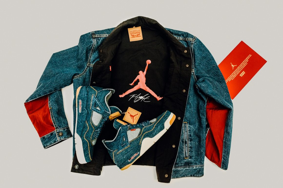 Upcoming Levi's Jeans X Jordan Collaboration