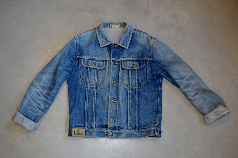 Original Vintage Torera Lois Jeans Mens Jacket