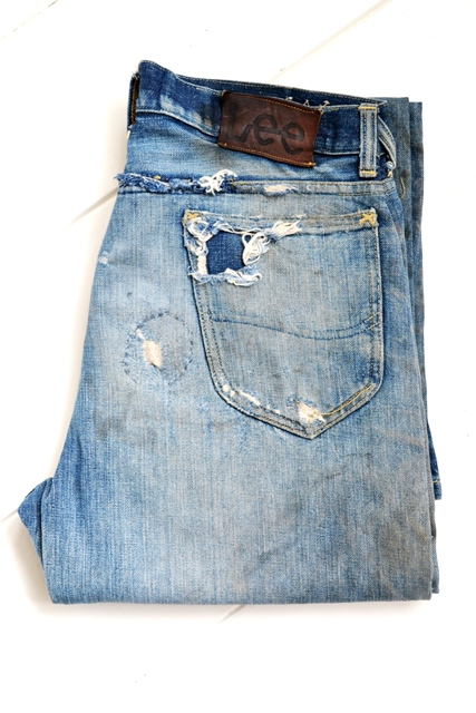 566c44b9 Original Vintage Lee Cowboy Jeans From The 1940's - Long John