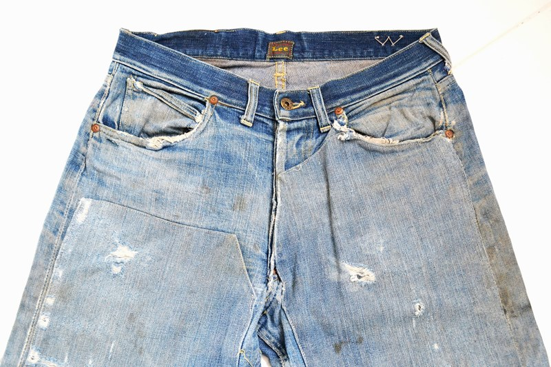 Original Vintage Lee Cowboy Jeans From The 1940's - Long John