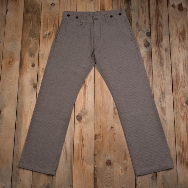 ceb2cb14cde2c kopie1942 Hunting Pant_herringbone brown_longjohn pike brothers denim jeans  brand denimpeople denimheads denimhead (3)