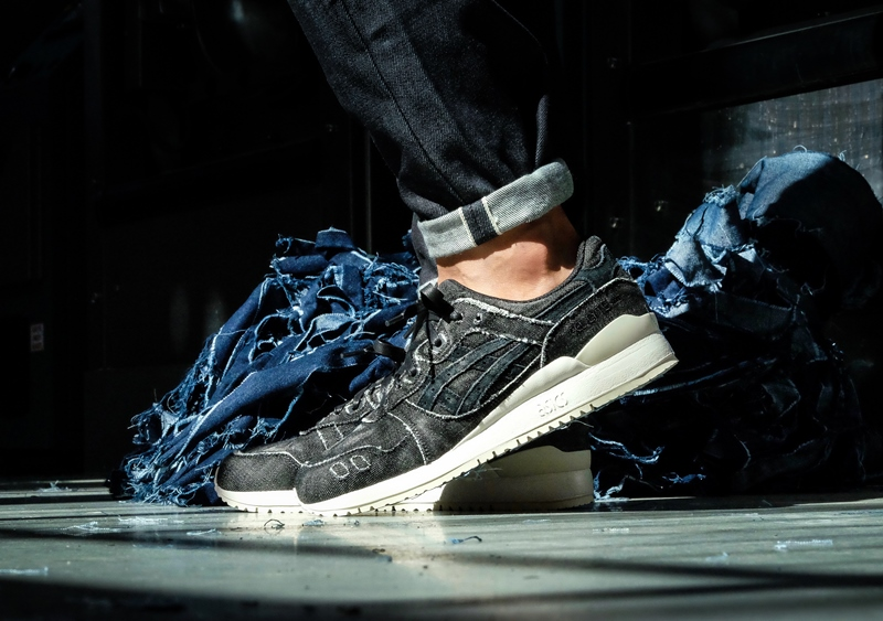"""ASICSTIGER is launching the """"GEL LYTE III Japanese Black"""