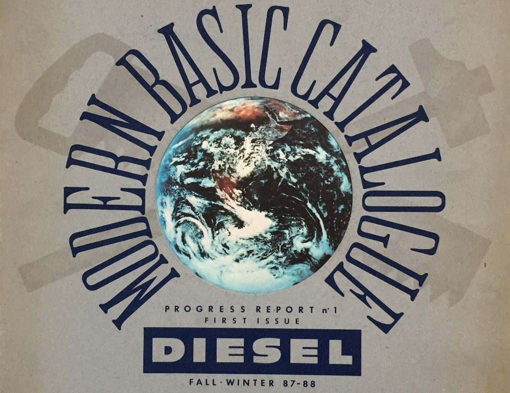 First Diesel Jeans Catalog From Fall Winter 1987 – 1988