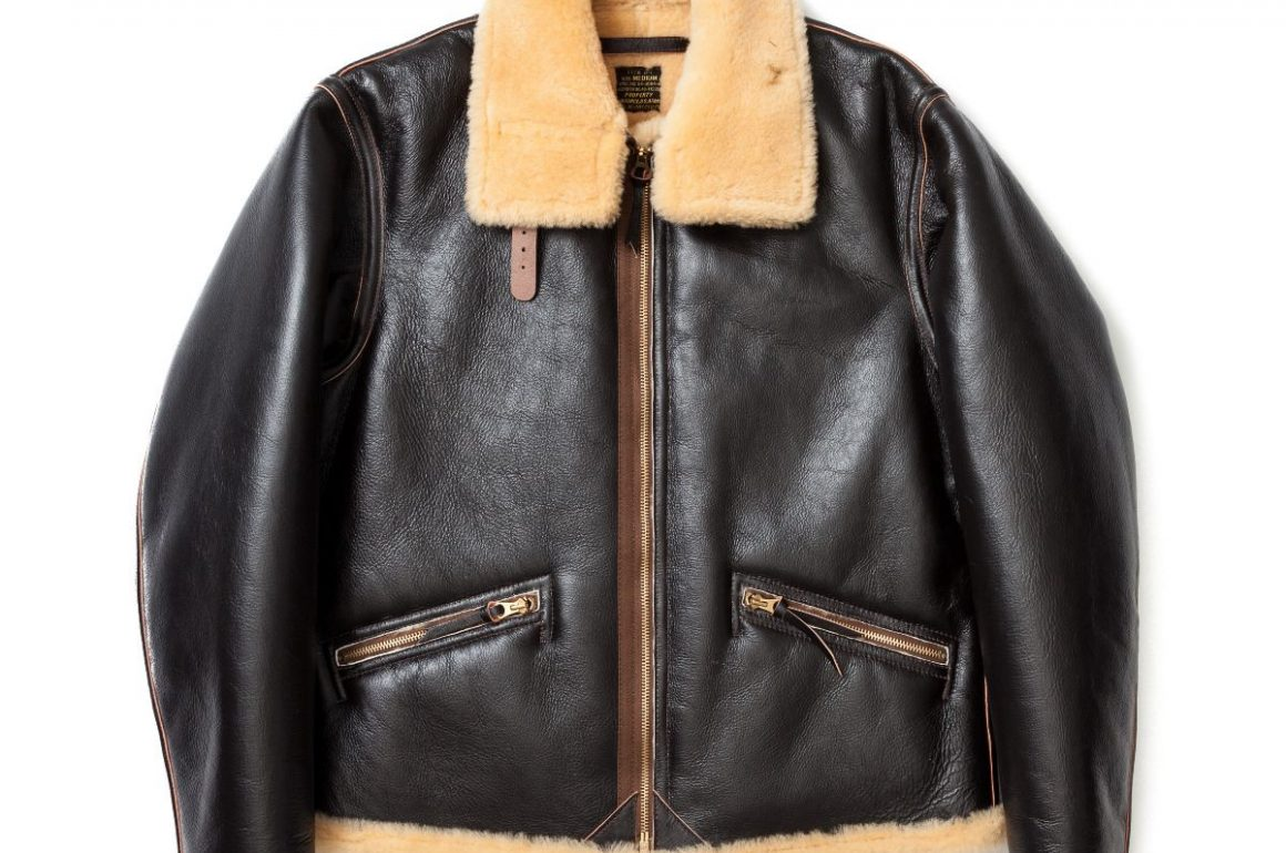 The Real McCoy Type D-1 Leather Jacket