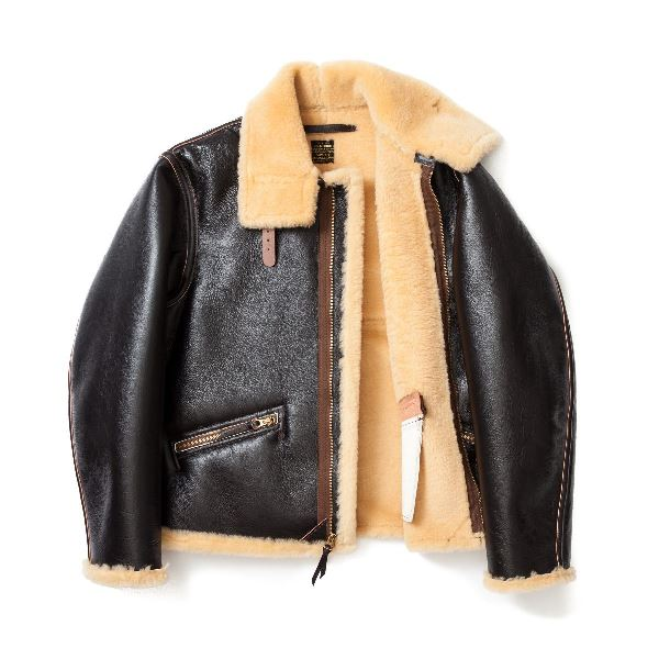The Real Mccoy Type D 1 Leather Jacket Long John