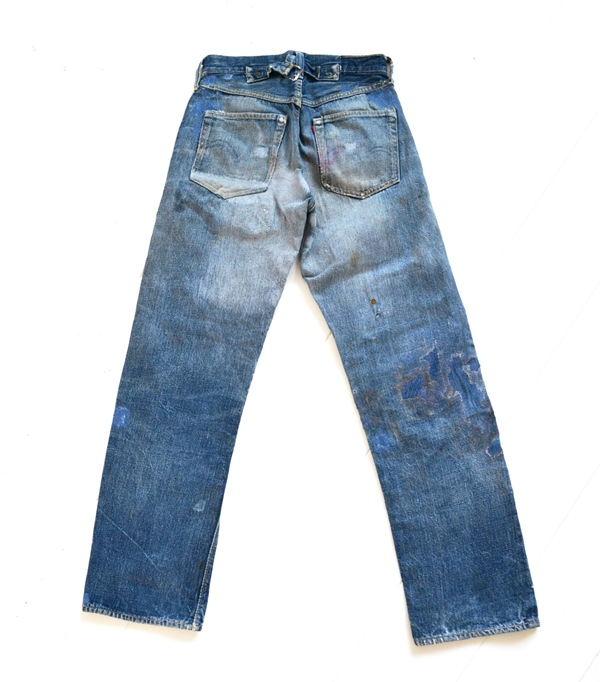 123bb5a468b Original Vintage Pair of Levi's 501XX Jeans from 1937 - Long John