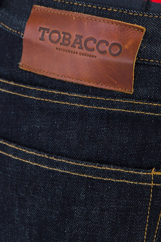 tobacco jeans