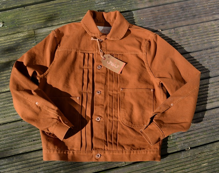 JWJ 'El Patron 2' Duck Brown Canvas Jacket