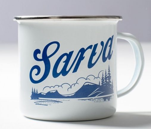 Sarva Enamel Authentic Coffee Cups