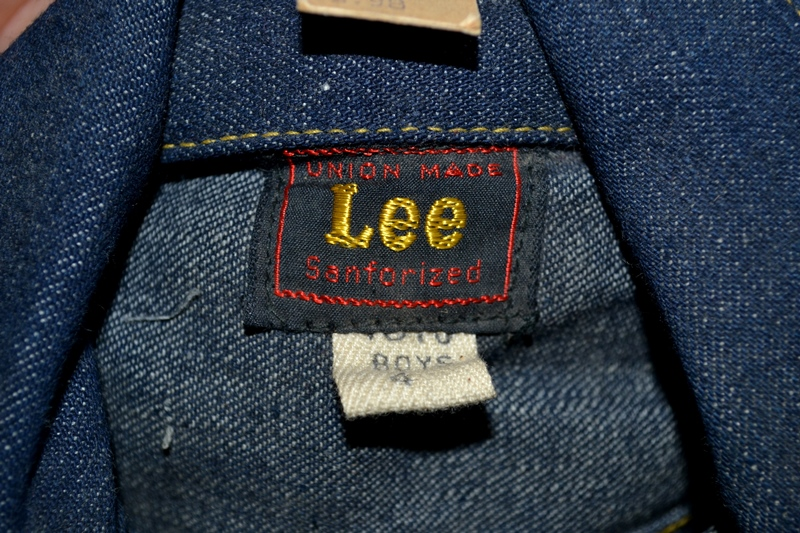 lee rider jacket longjohn