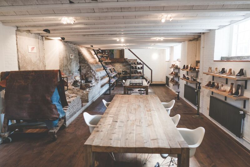 The New Red Wing Shoes HQ Europe In Amsterdam