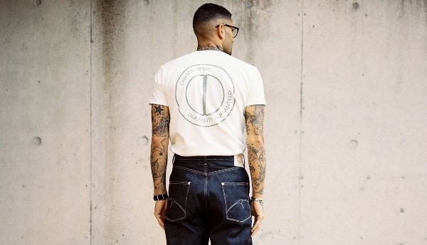 Dawson Wide Tapered Natural Indigo Jeans