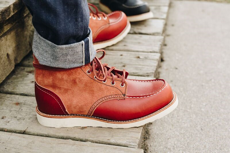 Red Wing Shoes: 8819 Upper Tier Limited Edition