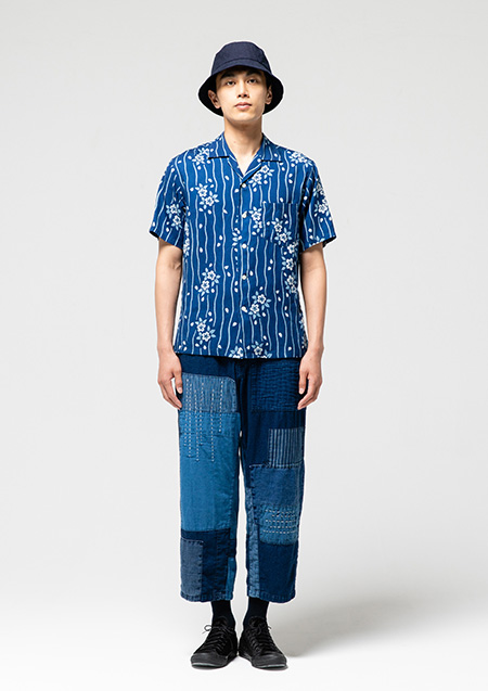 blue blue japan longjohn