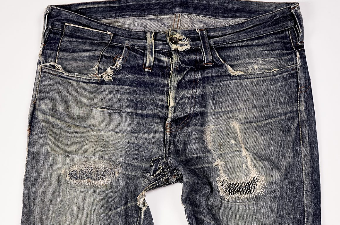 Worn-Out Projects X Dumluck Jeans