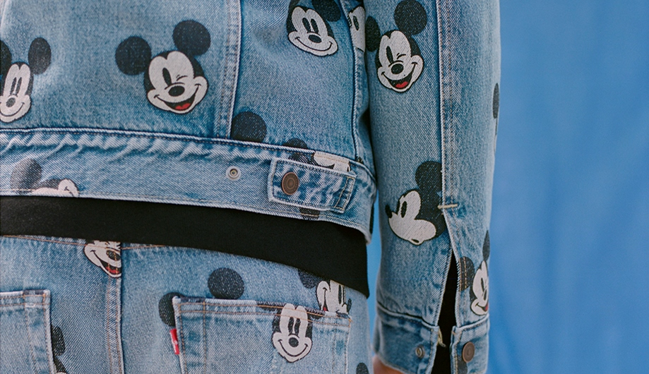 mickeymouse levi's