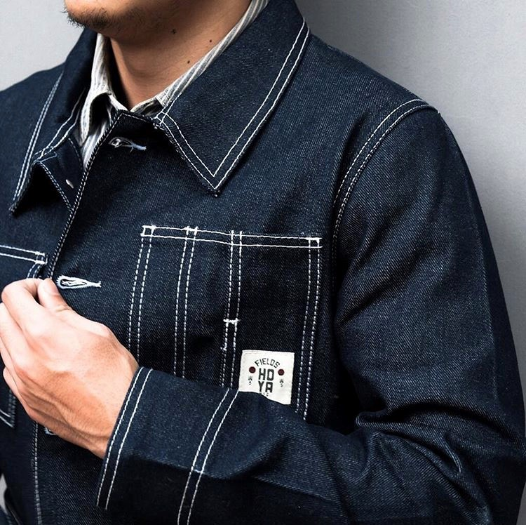 Hoya Fields Mfg Chore Coat Denim Jacket