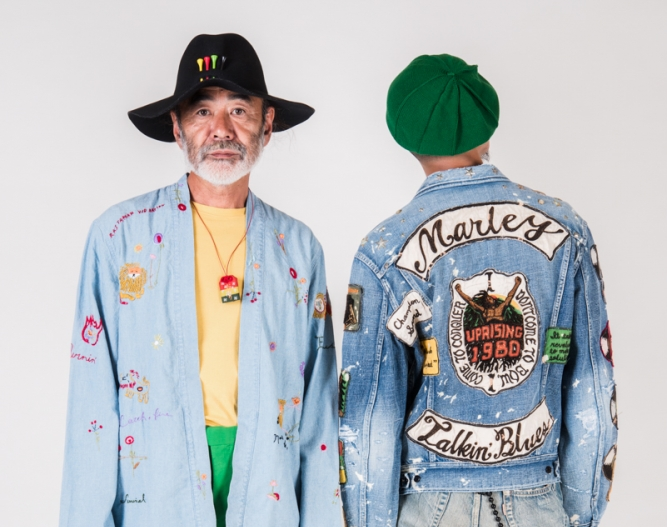 Kapital Spring Summer 2019 'Bob Marley' Collection