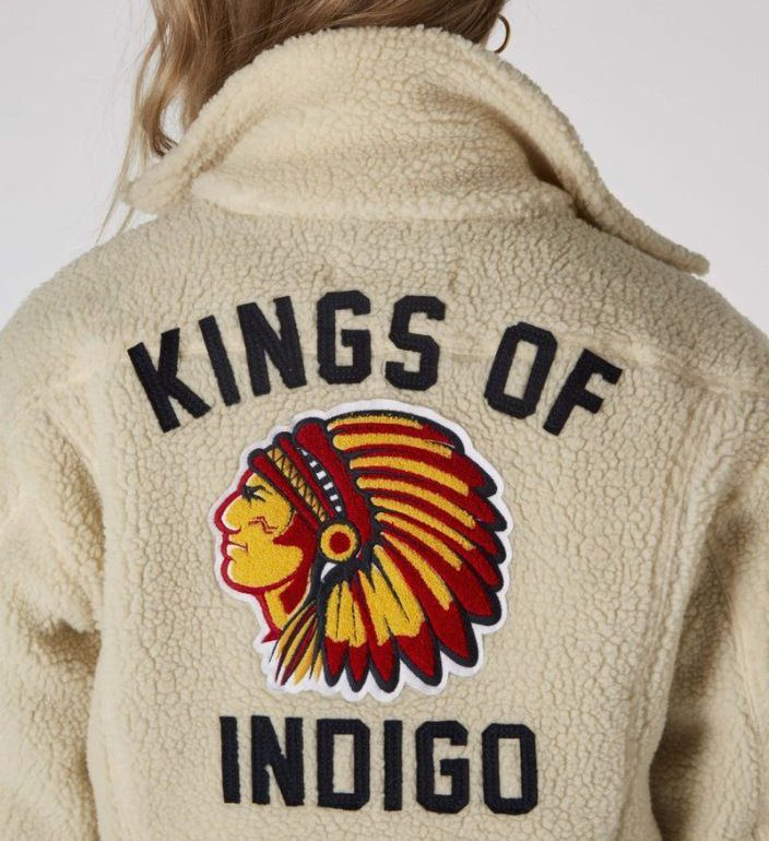 Kings Of Indigo Unisex Till Indian Jacket