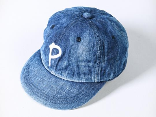 Japan Blue Denim Indigo Baseball Caps