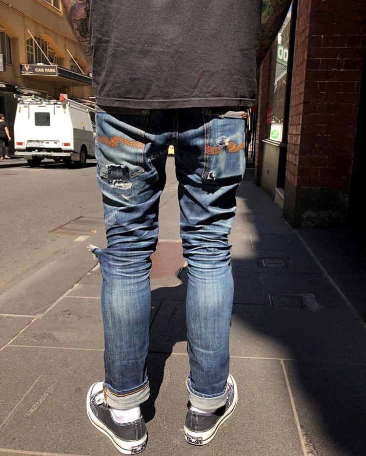 Worn Out Projects X Nudie Jeans Tape Ted Long John