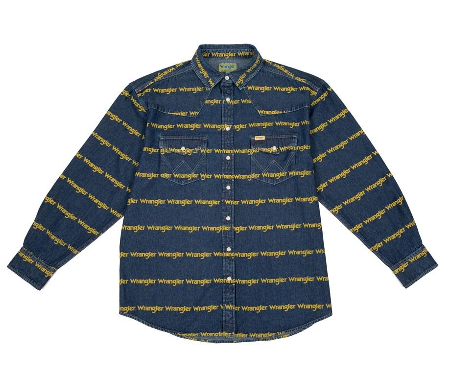 wrangler blue & yellow
