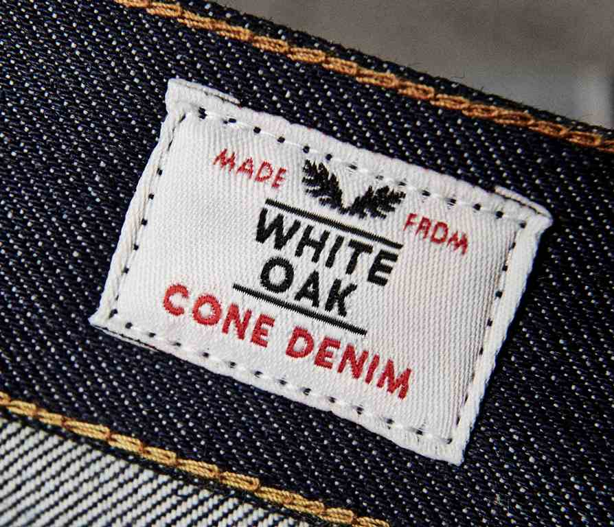 cone denim white oak