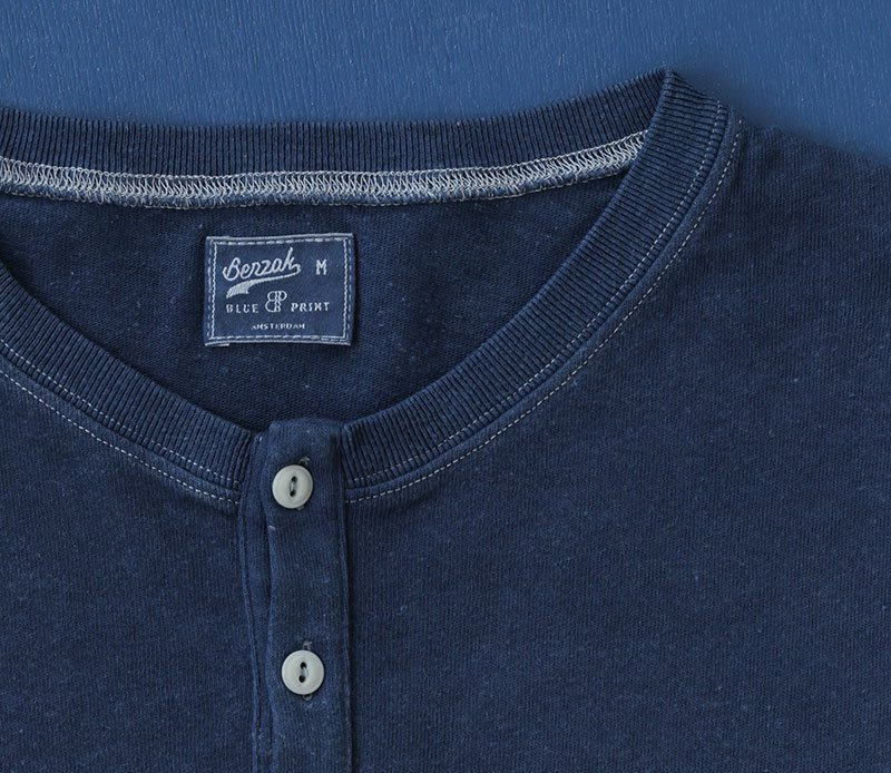 Benzak Presents Natural Indigo Dyed Shirt & Henley