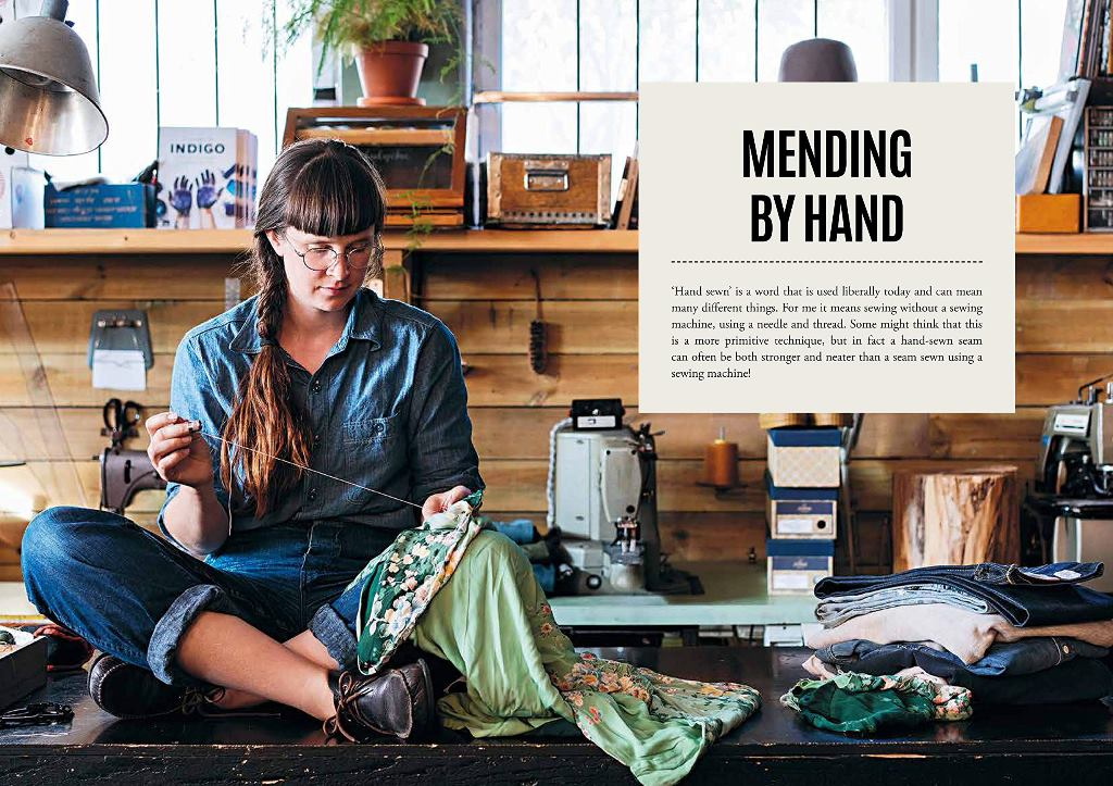 English Version Of Mend & Patch Book By Kerstin Neumüller