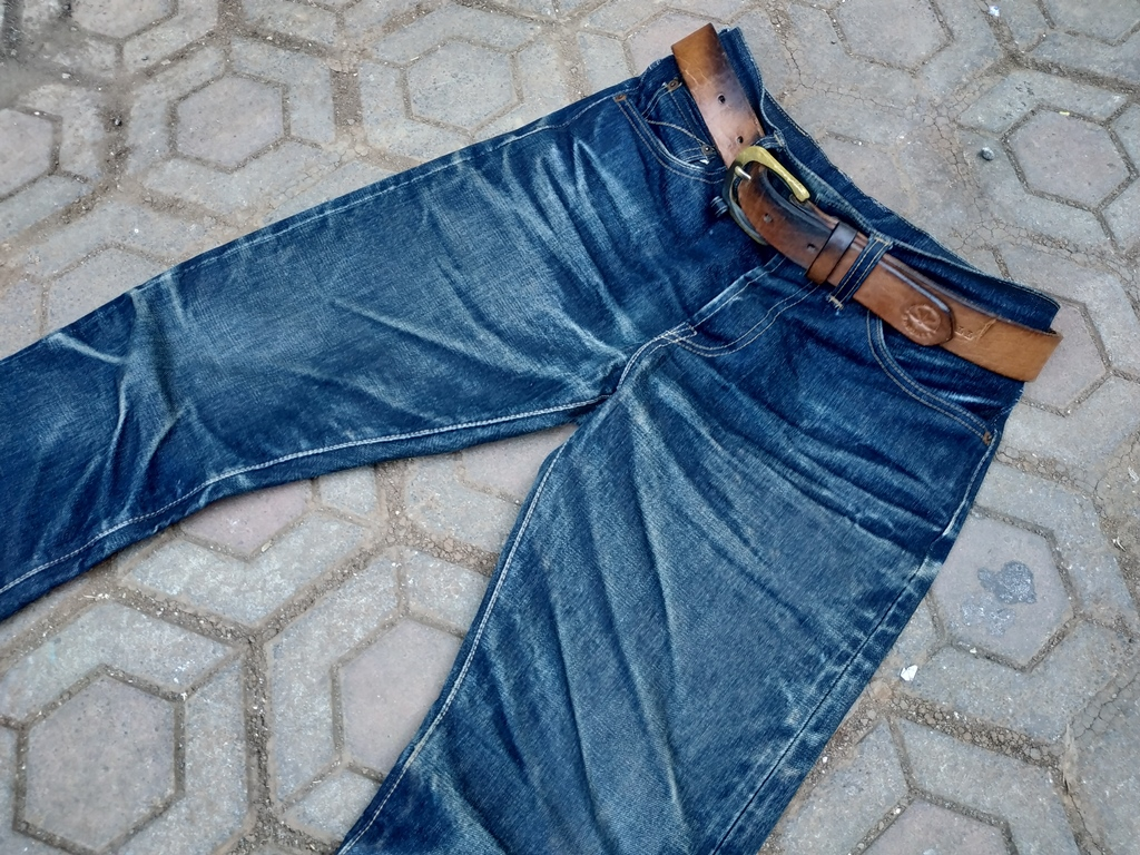 Worn-Out Projects X Sageseesmore Jeans