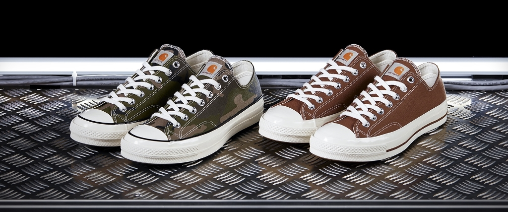 Carhartt X Converse Collaboration Chuck 70 Sneakers