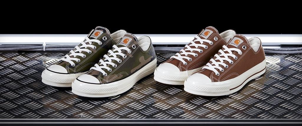 Carhartt X Converse Collaboration Chuck 70 Sneakers