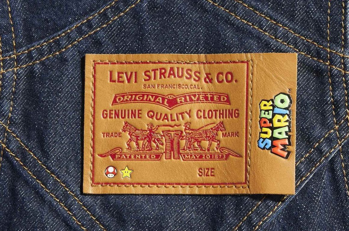 Levi's Released Super Mario Limited-Edition Collection
