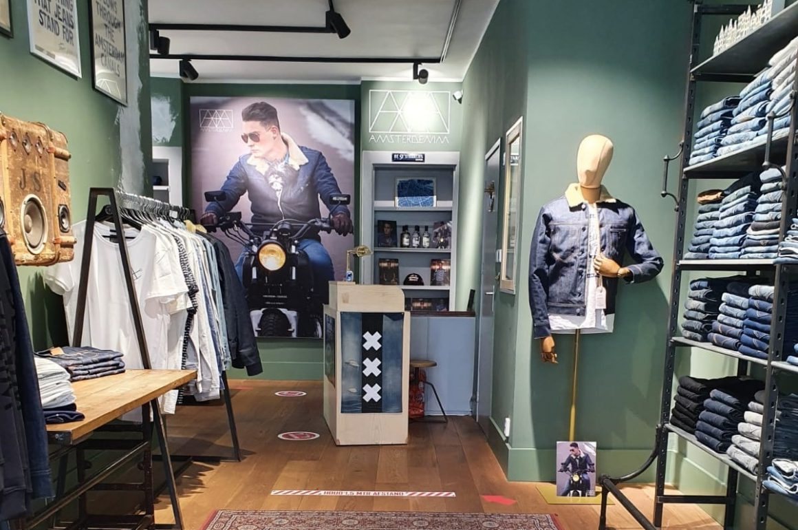 Amsterdenim Opened Pop-Up Store In Amsterdam