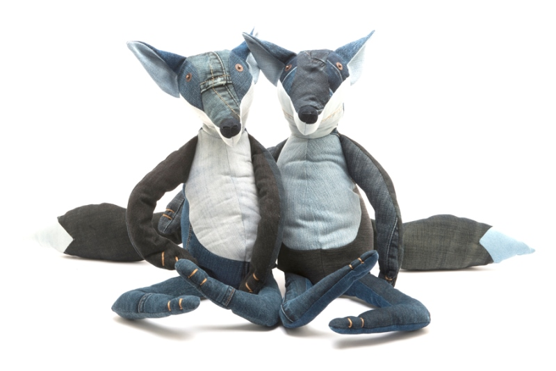 Maison Indigo Upcycles Old Jeans Into Cuddly Toys