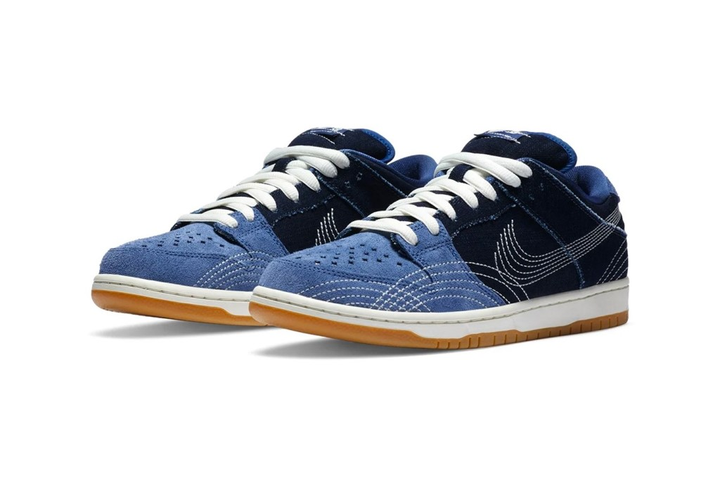 Nike SB Low Dunk Denim Sashiko Style Is Coming