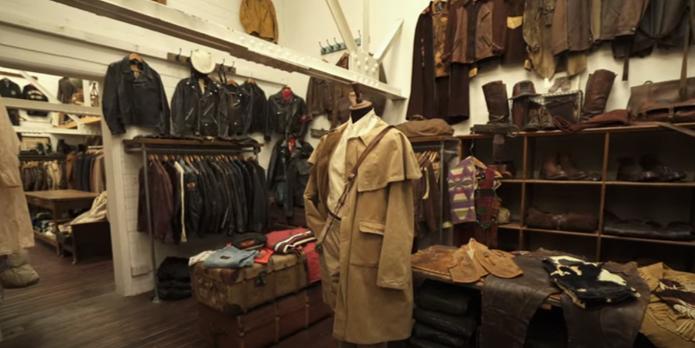 vintage showroom