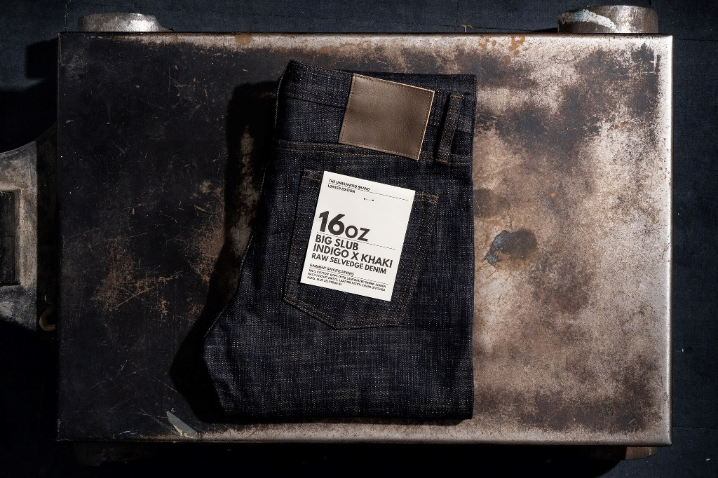 The Unbranded Brand Limited-Edition Big Slub Selvedge Denim