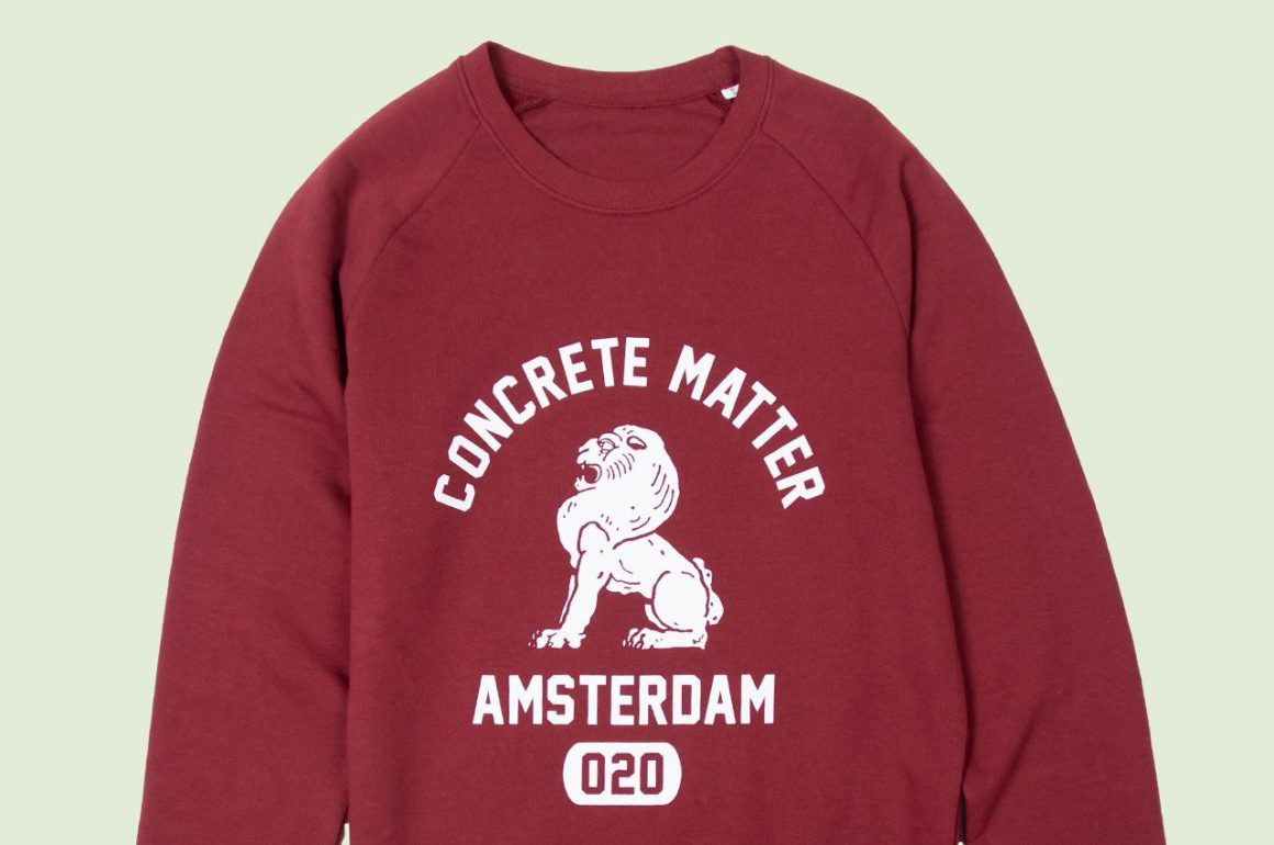 Concrete Matter Celebration Amsterdam Sweater