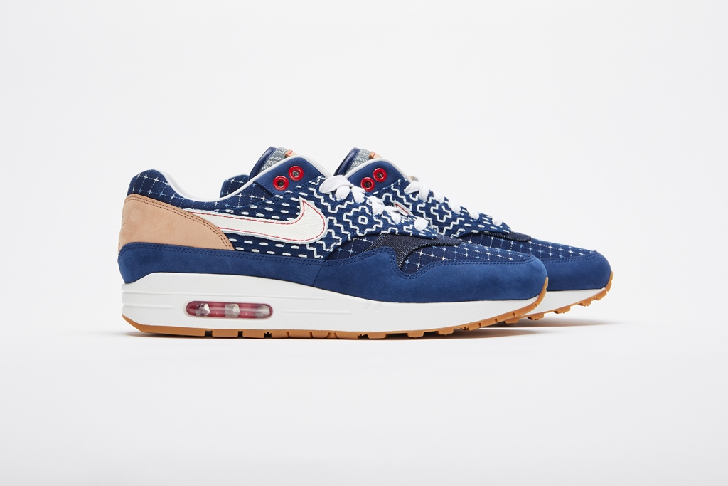 The Denham X Nike Air Max 1 Collaboration Sneaker