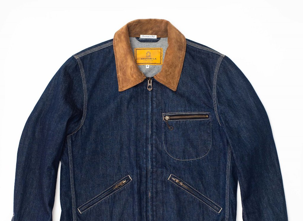 Shangri-La Heritage Varenne Ranch Selvedge Denim Jacket.